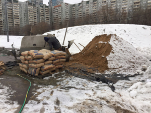 В спортивно-оздоровительном комплексе на ул.Яблочкова